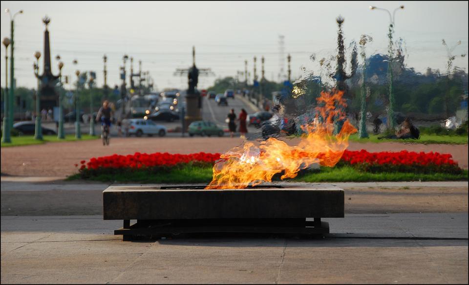Вечный огонь (Марсово поле) огонь город память война CerjArt
