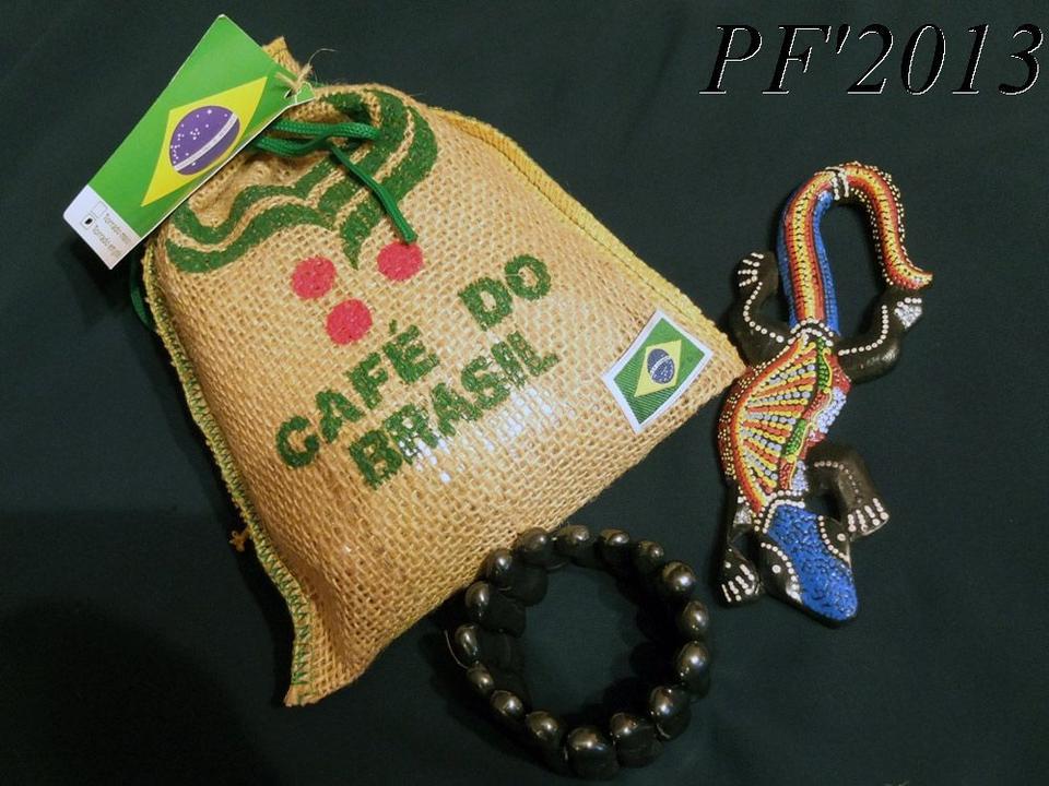 pf'2013 Бразилия, кофе, игуана, гематит, браслет