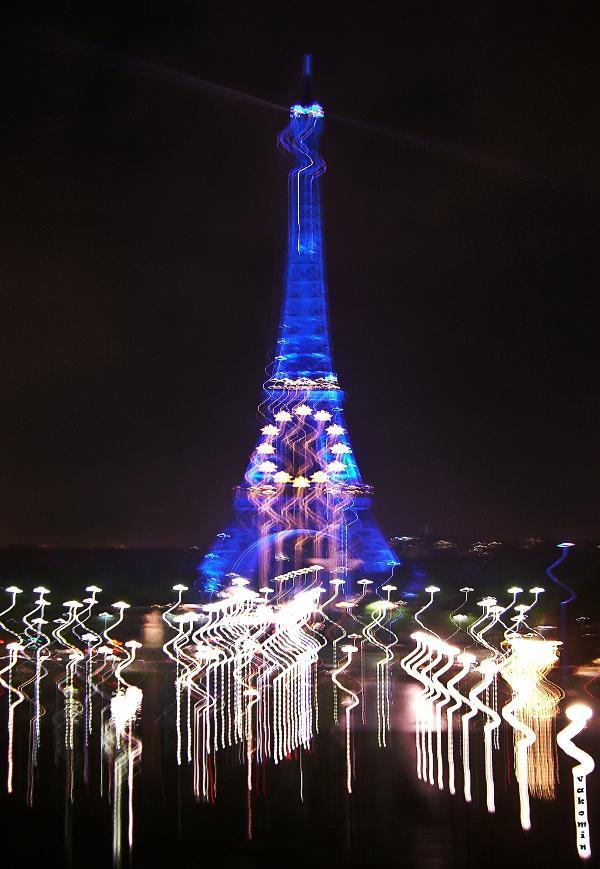La Tour Eiffel 2 Париж  Paris La_Tour_Eiffel балет мгновениe vakomin