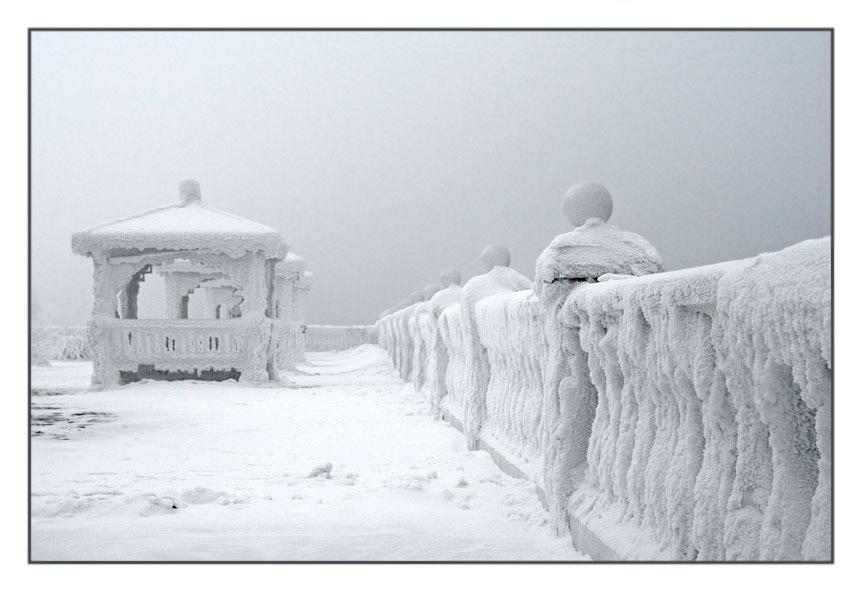 Утро туманное туман зима