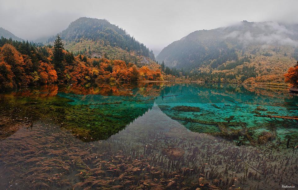 ~~~ Jiuzhaigou #14 ~~~ Jiuzhaigou Цзючжайгоу долина_9_деревень Jiuzhai_valley China Китай vakomin