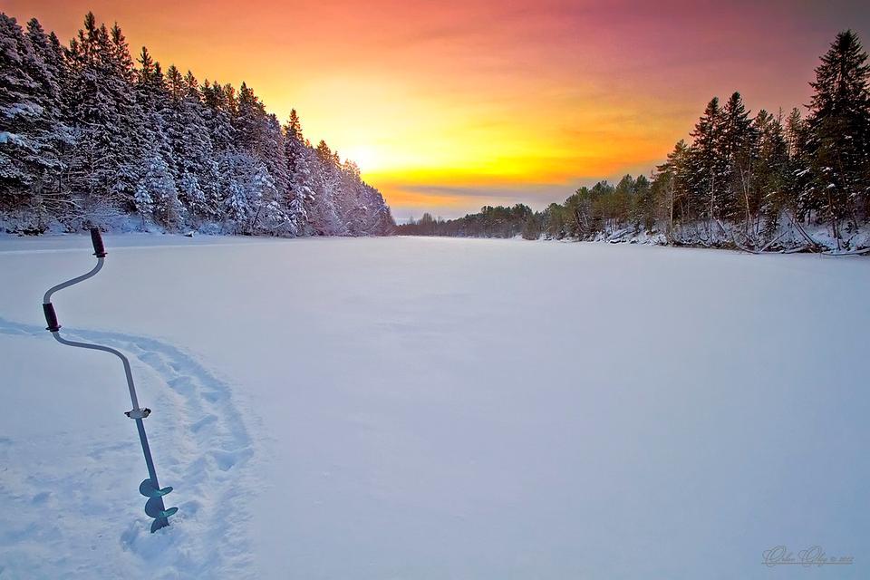 Зимняя рыбалка...