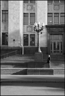 *** Москва МГУ черное белое черно-белое геометрия контраст