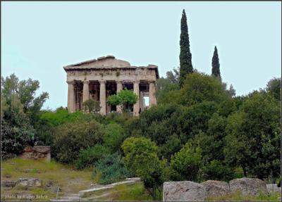 Гефестейо́н Греция Афины храм Храм Гефеста