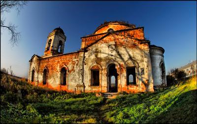Эхо войны церковь