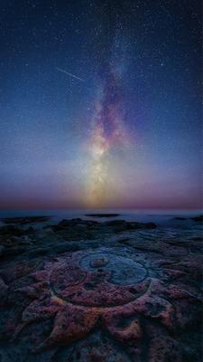 """""""О том как солнцу приснился млечный путь..."""" море звезды крым ночь севастополь млечный путь"""
