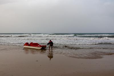 бурлаки нв Крите шторм лодка