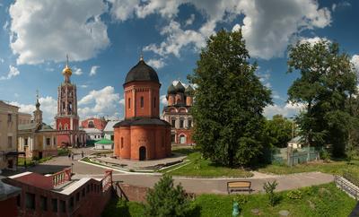 Высоко-Петровский (2) Москва Петровка Высоко-Петровский монастырь
