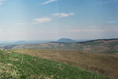 Кавказские горы Горы трава небо Кавказ