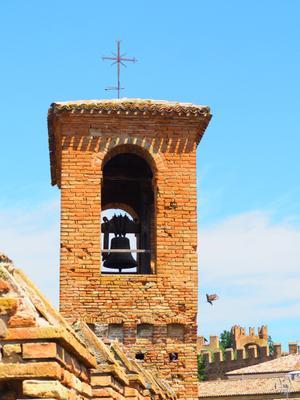 В крепости Градара Италия крепость
