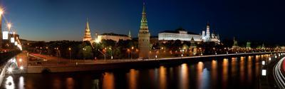 Панорама Кремля Кремль, панорама, август, лето