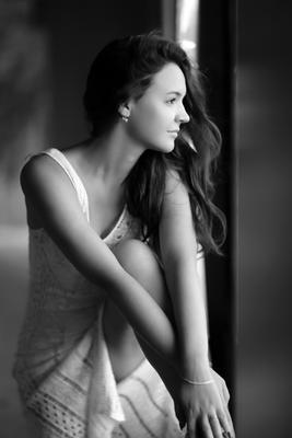 Ксения портрет девушка модель
