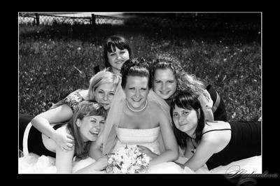 подружки свадьба подружки