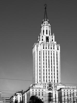 Недалеко от трёх вокзалов. город москва архитектура