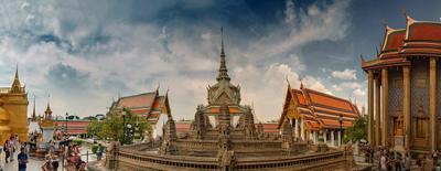 Во дворце Короля Тайланда. Тайланд. Дворец короля.