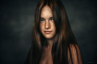 Катя портрет девушка фотосессия девушки жанровый