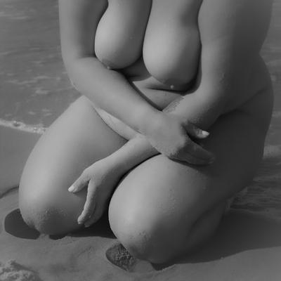 ***Женский акт обнаженная женщина фигура больших размеров модель