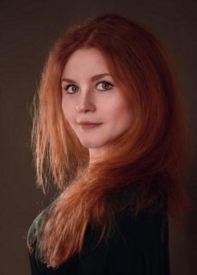 *** портрет девушка рыжая