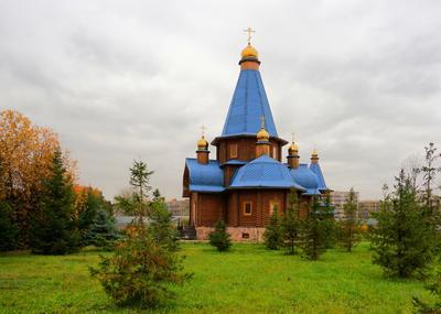 Церковь во имя Святой Мученицы Галины. центр медицина технологии фмба россия