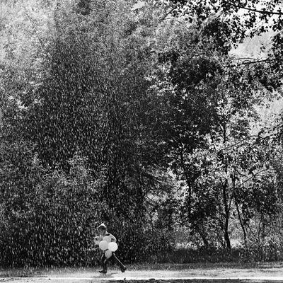 :) лето, дождь, шарики