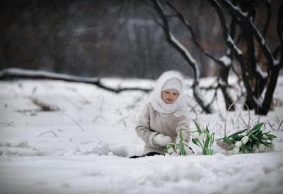 12 месяцев девочка 12 месяцев зима сказка