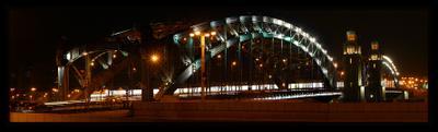 *** Большеохтенский мост Петра Великого