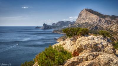 Крымский пейзаж Крым Судак Море