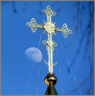 Вечер Новосибирск крест храм