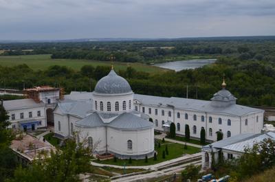 ***Дивногорский Успенский монастырь лето отдых прогулка