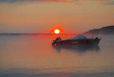 Утро, Московское море, Конаково.