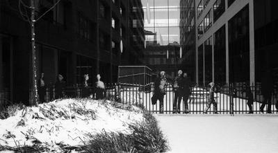 маршрутизатор в снегу