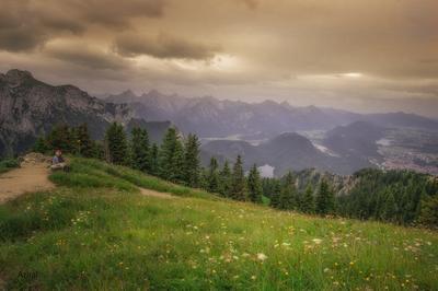 ***Lindau*** горы долины