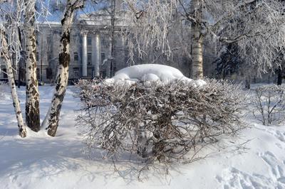 Сибирская зима Иркутск зима