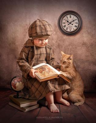 *** Дети животные книги