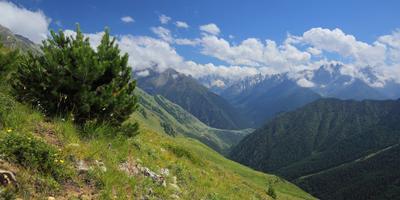 Кавказская даль Кавказ горы