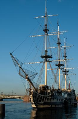 At anchor Petersburg