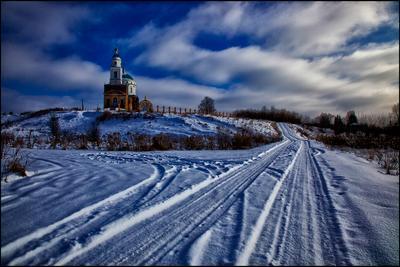 Церковь Покрова Пресвятой Богородицы с. Клеймёново Орловской обл.