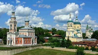 Старый Серпухов (3) Серпухов Успенская церковь Ильинская Троицкая старый