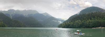 Озеро Рица. 15 минут спустя... Рица Абхазия