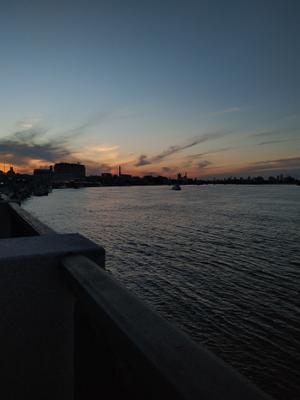 Набережная Набережная Днепр пейзаж закат вечер