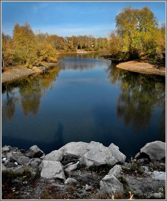Залив Новосибирск Обь