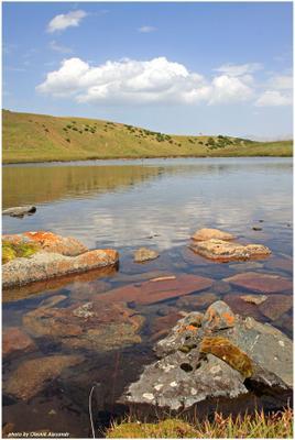 горное озеро Асы