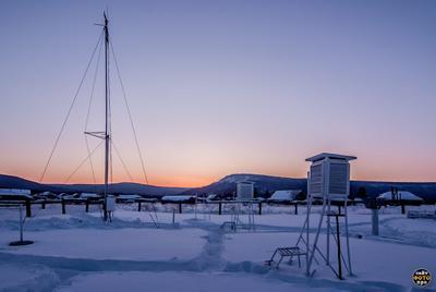 *** метеостанция Орлинга фото зимой