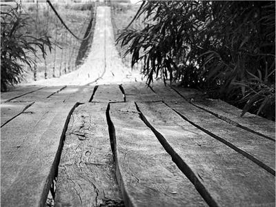 *** мост, подвесной мост, деревянный мост