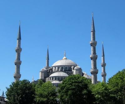 Голубая мечеть турция, стамбул, голубая мечеть, султанахмет