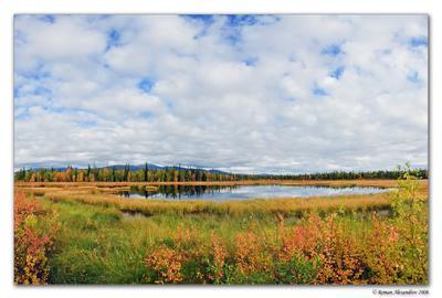 Заполярье Заполярье, хибины, осень, небо, вода,
