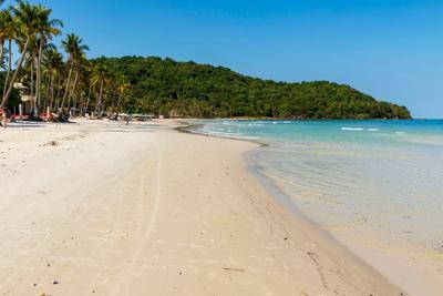 на пляже Бай Сао 4 Вьетнам о Фукуок море