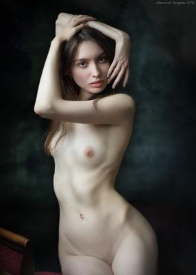 Обнажённый портрет девушка обнажённая красота нежность гармония настроение