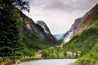 Долина Nærøydalen Norway, Nærøydalen, Gudvangen