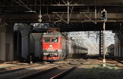 ЧС200-011 (4) поезд электровоз ЧС200 Skoda Škoda Невский_Экспресс